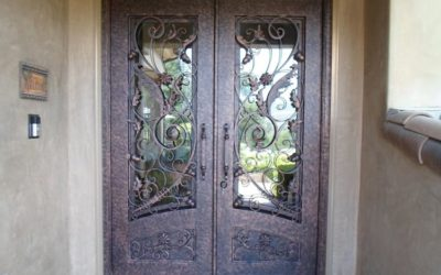 Modern Design Ideas for Custom Iron Doors
