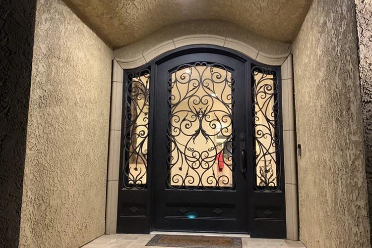 The Best Ways to Increase Your Home Value Using Custom Iron Doors