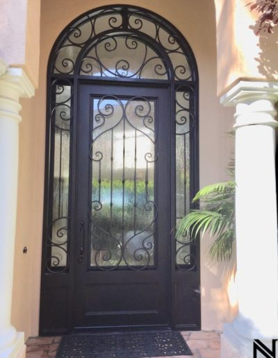 Wrought Iron Custom Doors by Baltic
