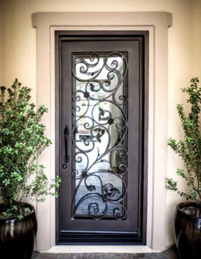 Single Iron Doors by Baltic Iron Doors