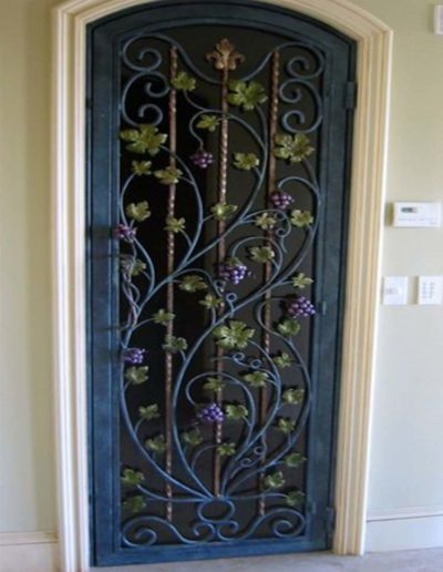 Custom Single Iron Door by Baltic Iron Doors