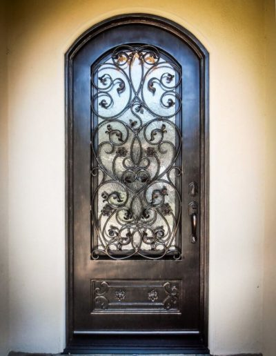 Custom Iron Door Design by Baltic
