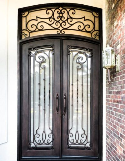 Creative Custom Iron Doors Design