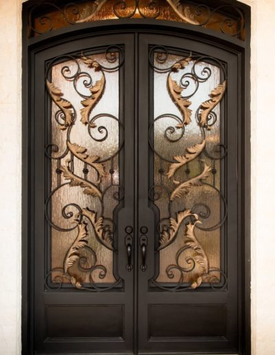 Beautiful Custom Iron Doors Designs