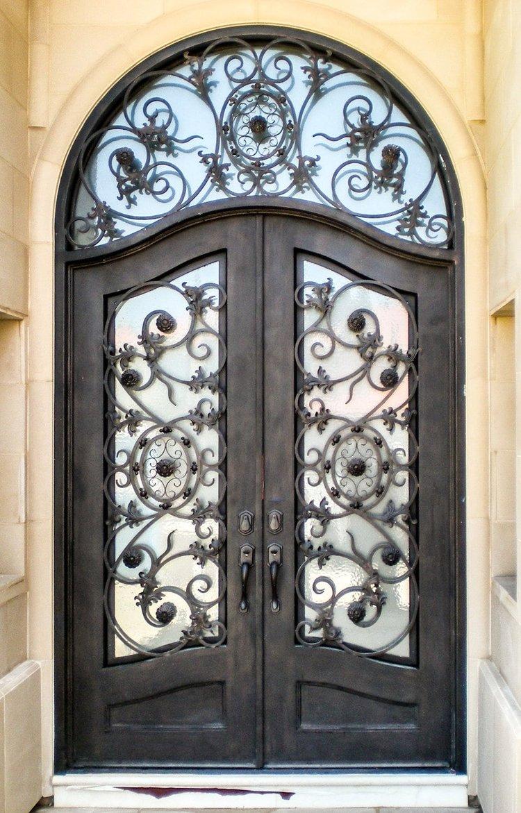 Custom Iron Doors Manufacturer Wrought Iron Door Installation