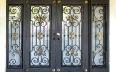 What Wrought Iron Hardware Will Fit Your Single Iron Door?