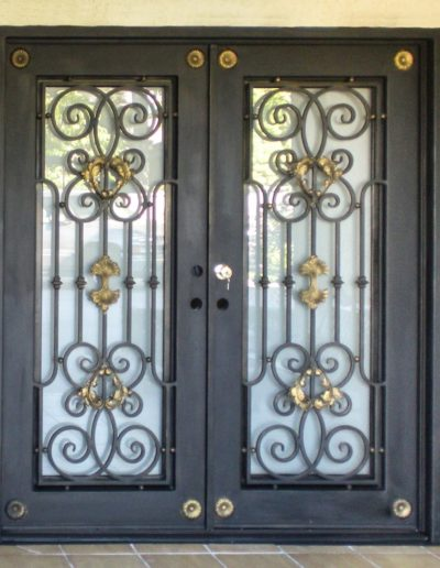 Baltic Custom Wrought Iron Doors