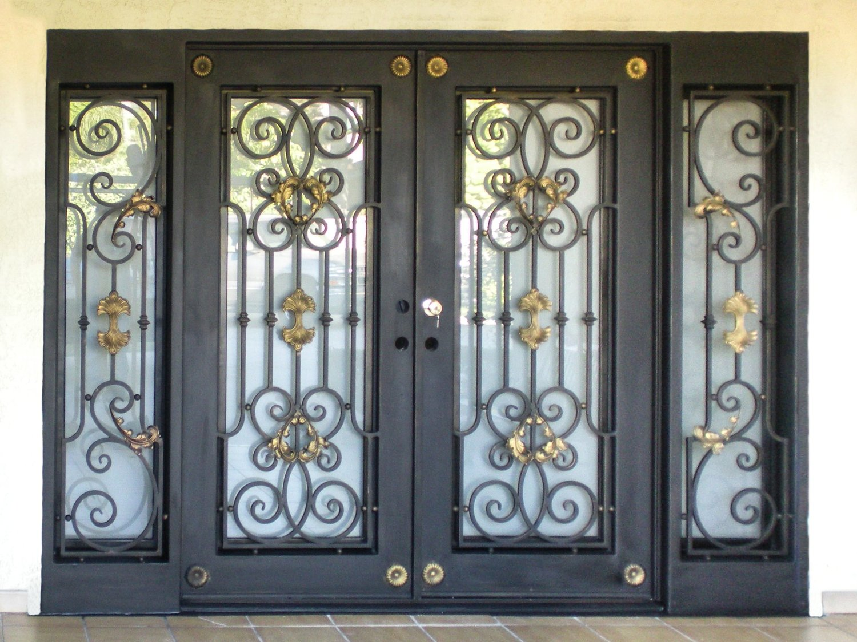 Baltic Custom Wrought Iron Doors