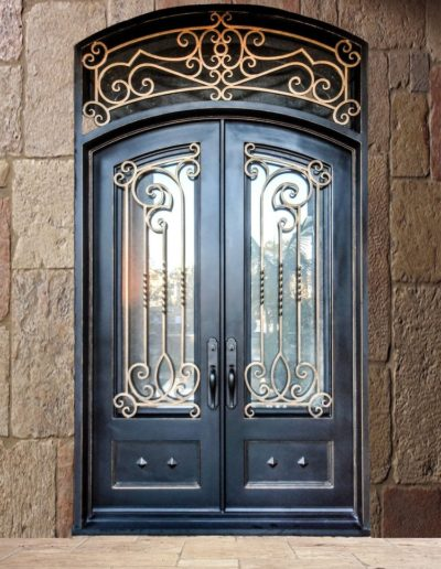 Custom Wrought Iron Doors by Baltic Iron Doors