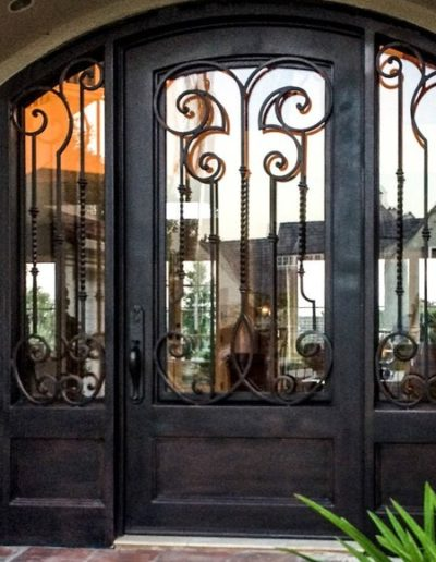 Baltic Custom Double Iron Doors Design