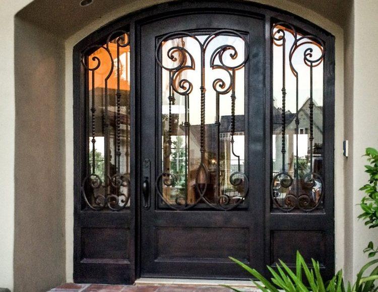 Baltic Custom Double Iron Doors Design