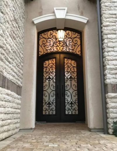 Custom Security Iron Doors