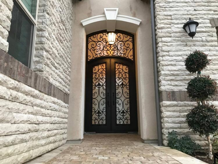 Custom Security Iron Doors