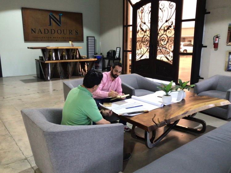 Naddour's Custom Metalworks Santa Ana Office