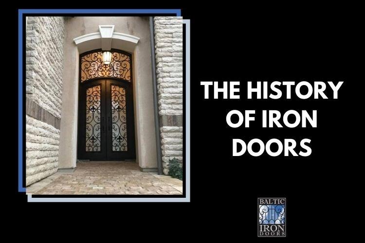 history of iron doors