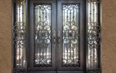 WHAT IS MALLEABLE IRON AND WHY IS IT GOOD FOR DOORS & GATES