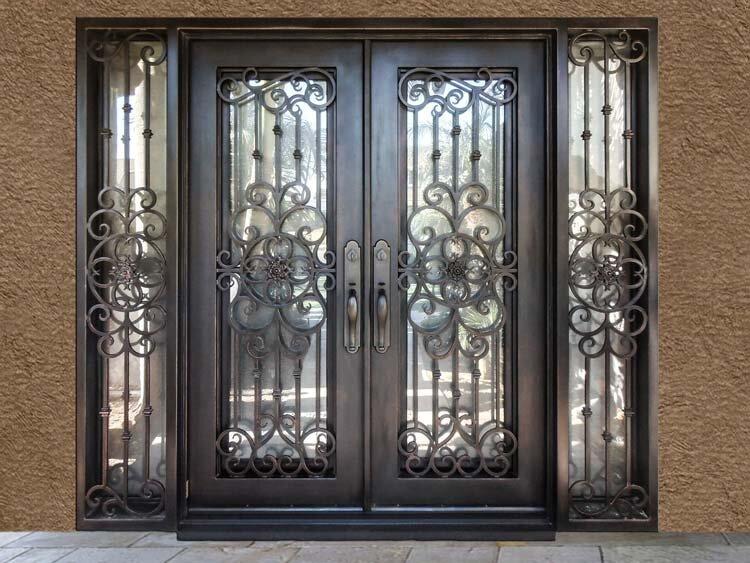 Malleable Iron for Custom Double Doors