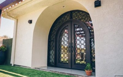 WHY IRON DOORS BEAT WOOD, GLASS AND STEEL DOORS